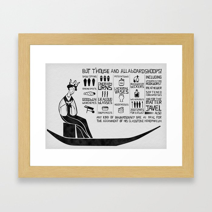 allaboardshoops! Framed Art Print