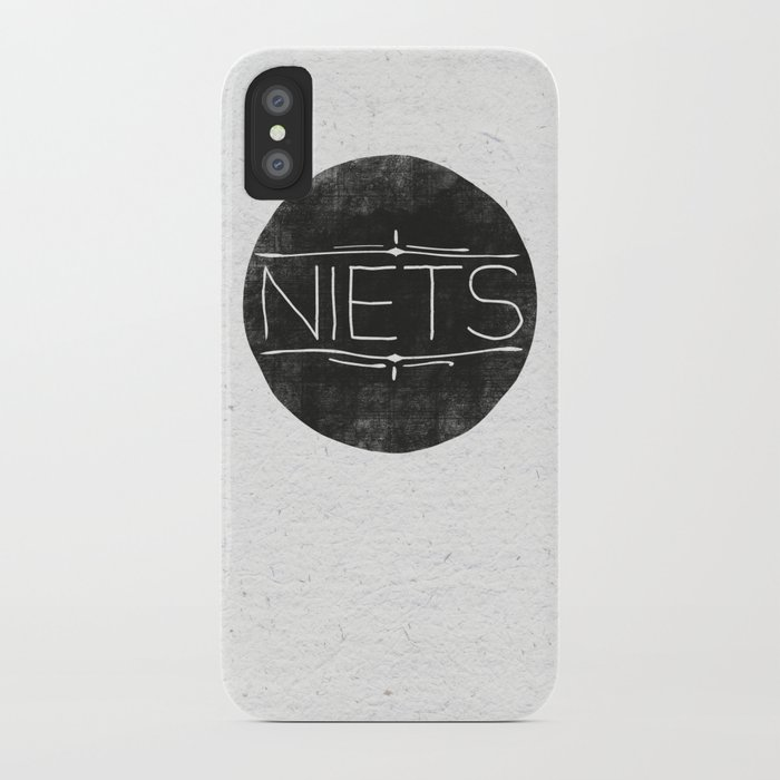 Niets iPhone Case