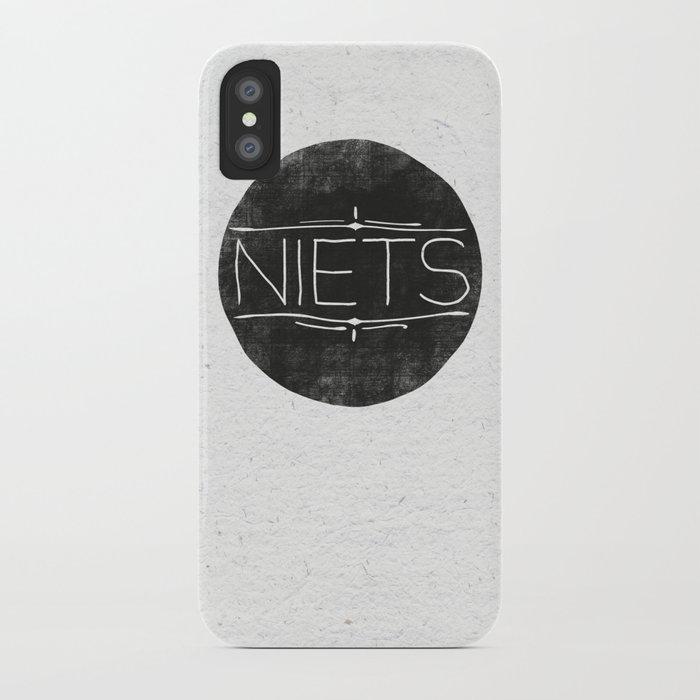 Niets iPhone Case