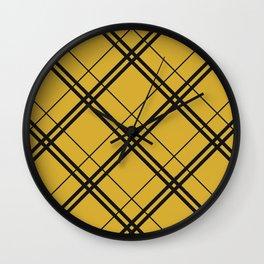 Hufflepuff Argyle Wall Clock