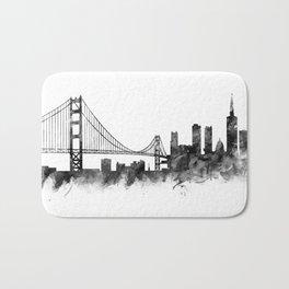 San Francisco Skyline Bath Mat