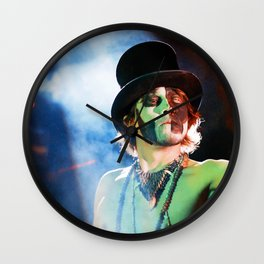 Pyrotechnic Theater Wall Clock
