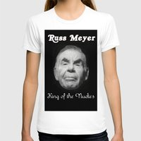 kevin russ T-shirts featuring Russ Meyer Tribute Poster by Holland