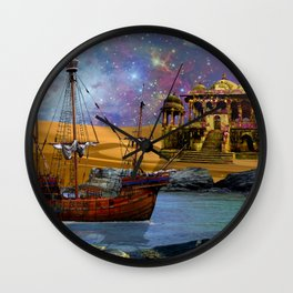 An Arabian Adventure Wall Clock