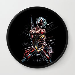 Eddie, Somewhere in Time Wall Clock
