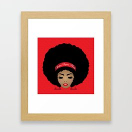 I am a DELTA Woman Framed Art Print