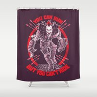 marauders Shower Curtains featuring MAD MAX: WEZ THE ROAD WARRIOR by BeastWreck