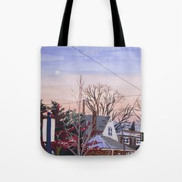 Sunset in NY Tote Bag