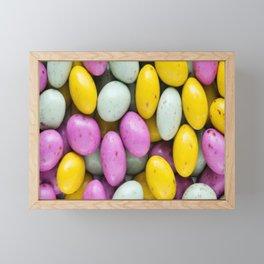 Easter Eggs Framed Mini Art Print