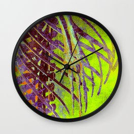 Hell Rollercoaster Wall Clock