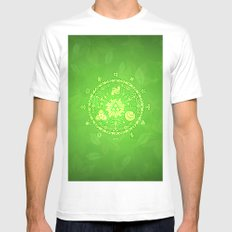 TRIFORCE - ZELDA Mens Fitted Tee MEDIUM White