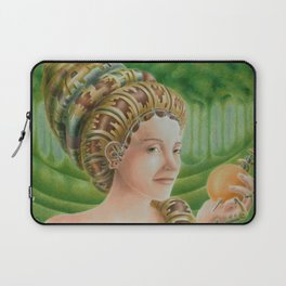 """""""Portrait in the forest"""" (notebook) Laptop Sleeve"""