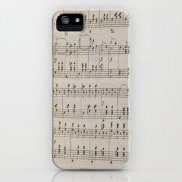 The Blue Danube Waltz  iPhone Case