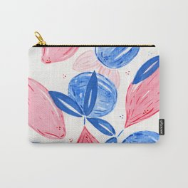 Pink Lemons and Blue Oranges Carry-All Pouch