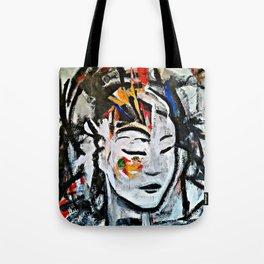 El Cambio - Abstract portraits - Original Painting - MARINA TALIERA Tote Bag