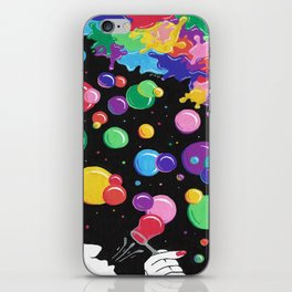 Bubbles colors the World !  iPhone Skin