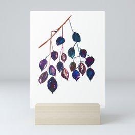 Kurrajong seeds, Minimalist, Scandi Mini Art Print
