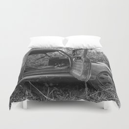Old Chevy Truck II Duvet Cover