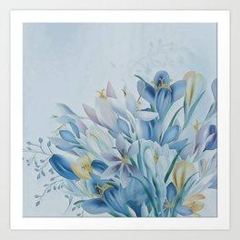 Lovely Spring Crocus Art Print