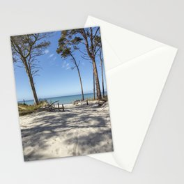 A Day At The Baltic Sea Beach Stationery Cards