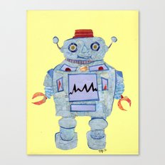 Robot Robotic! Canvas Print