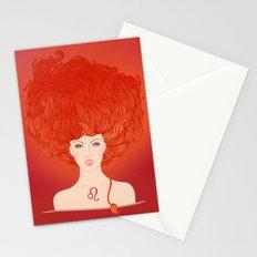 Zodiac Leo Stationery Cards