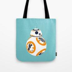 BB8 Blue Tote Bag