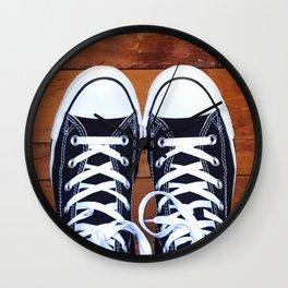 Shoe Print Wall Clock