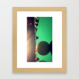 Billards Framed Art Print