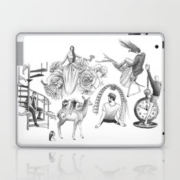 Ink Thoughts Six Laptop & iPad Skin