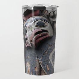 Totem pole Seattle Travel Mug