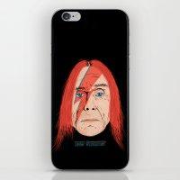 iggy iPhone & iPod Skins featuring Iggy Stardust by Chris Piascik