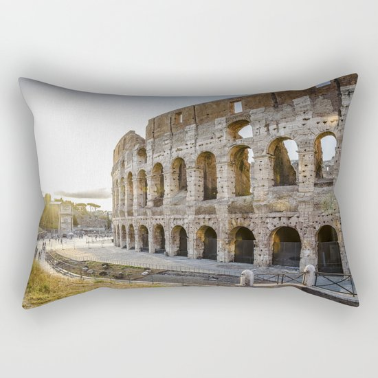 The Colosseum of Rome Rectangular Pillow