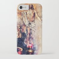 christ iPhone & iPod Cases featuring  Jesus Christ by jbjart
