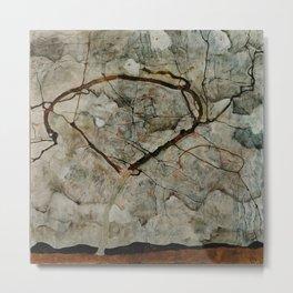 "Egon Schiele ""Autumn Tree in Stirred Air (Winter Tree)"" Metal Print"