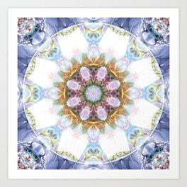 Mandalas from the Heart of Freedom 14 Art Print