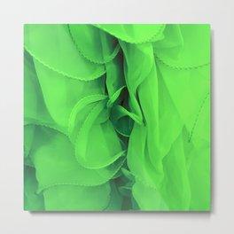 Paris Green Tutu Metal Print