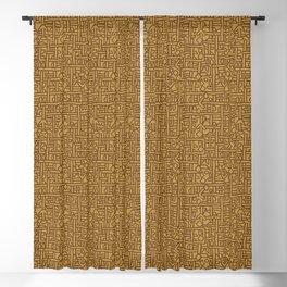 Ornament ethnic Blackout Curtain