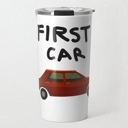 First car Travel Mug