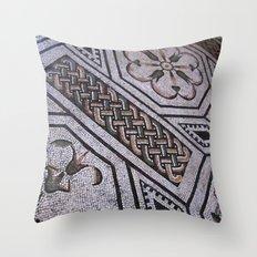 Roman Tiles Throw Pillow