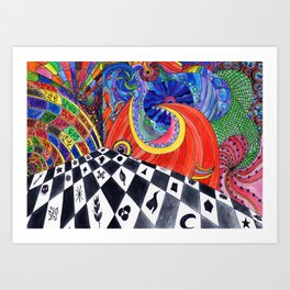 Fantasy Room Art Print