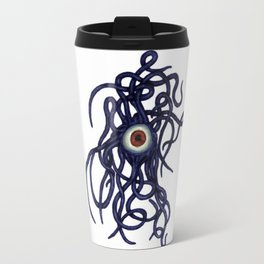 Evil Eye Halloween Creature Vector Travel Mug