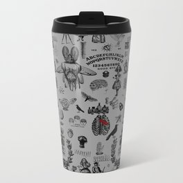 Apothecary Metal Travel Mug