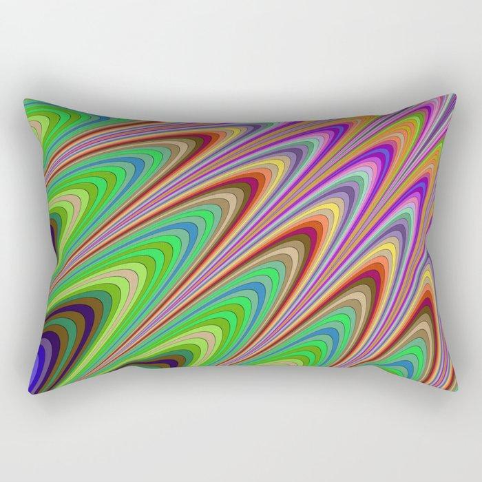 Magical summer sunshine Rectangular Pillow