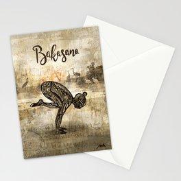 Bakasana Stationery Cards