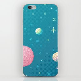 Brain Planet (8bit) iPhone Skin