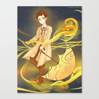 sandman Canvas Prints featuring sandman by sherryandgin