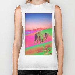 Psychedelic Sand Dunes 2 - Rainbow Biker Tank