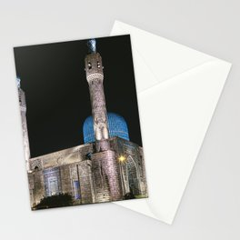 Mosque at night, night city, St. Petersburg (Russia) (2018-7SPB96) Stationery Cards
