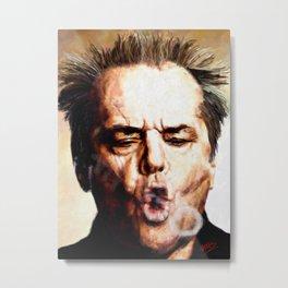 Nicholson Jack Metal Print